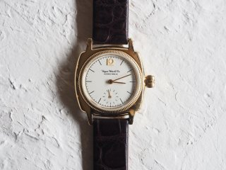 Vague Watch Co   COUSSIN 12 YG/D.Brown
