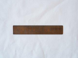 Lue  定規130mm  真鍮 文具