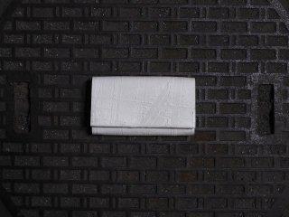 kagari yusuke  カガリユウスケ マチ付きカードケース white