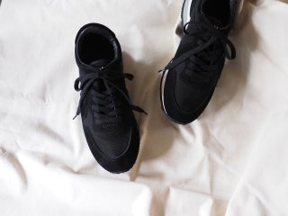 ASAHI Shoes アサヒシューズ TRAINER BLACK