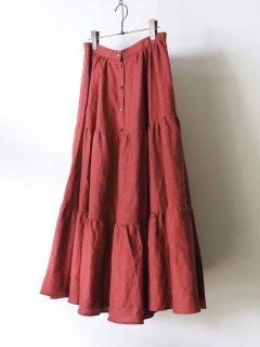 yee  イィ ティアードスカート RED [ラスト1点]