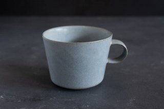 yumiko iihoshi porcelain イイホシユミコ unjour matin cup (cup L) color:smoke blue