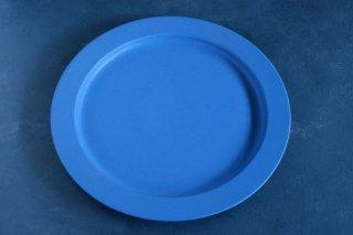 yumiko iihoshi porcelain イイホシユミコ unjour  matin plate (plate L) color:ruri