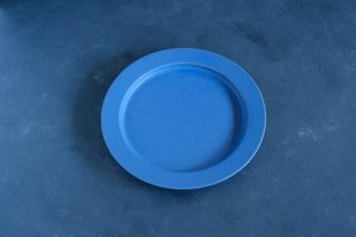 yumiko iihoshi porcelain イイホシユミコ unjour apres midi plate (plate M) color:ruri