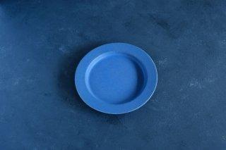 yumiko iihoshi porcelain イイホシユミコ unjour  gouter plate (plate S) color:ruri