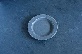 yumiko iihoshi porcelain   イイホシユミコ  unjour gouter plate (plate S) color:rainy gray