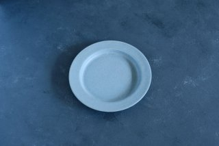 yumiko iihoshi porcelain イイホシユミコ unjour gouter plate (plate S) color:smoke blue