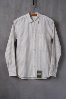 ASEEDONCLOUD  アシードンクラウド Handwerker  ハンドベーカー HW basic shirt  STRIPE  [ラスト1点]