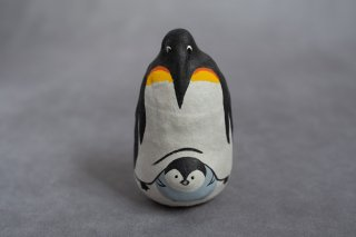coshell2 コシェルドゥ 起き上がり小法師 親子ペンギン