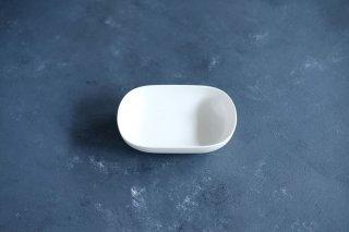 yumiko iihoshi porcelain イイホシユミコ ReIRABO Oval plate S color:quiet white