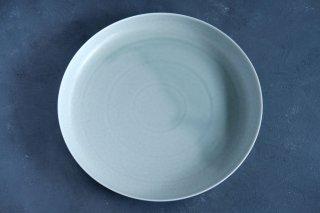yumiko iihoshi porcelain イイホシユミコ ReIRABO Round plate 27.5cm color:spring mint green