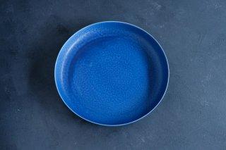 yumiko iihoshi porcelain イイホシユミコ ReIRABO Round plate 21.5cm color:offshore blue