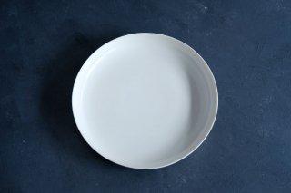 yumiko iihoshi porcelain イイホシユミコ ReIRABO Round plate 21.5cm color:quiet white