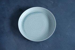 yumiko iihoshi porcelain イイホシユミコ ReIRABO Round plate 21.5cm color:spring mint green