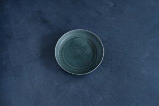 yumiko iihoshi porcelain イイホシユミコ ReIRABO Round plate L color:winter night gray