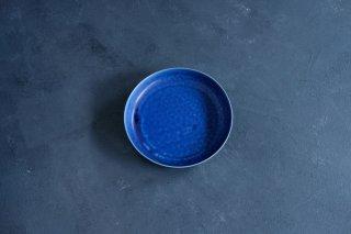yumiko iihoshi porcelain イイホシユミコ ReIRABO Round plate L color:offshore blue