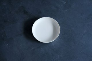 yumiko iihoshi porcelain イイホシユミコ ReIRABO Round plate L color:quiet white