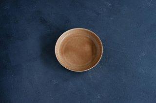 yumiko iihoshi porcelain イイホシユミコ ReIRABO Round plate L color:warm soil brown