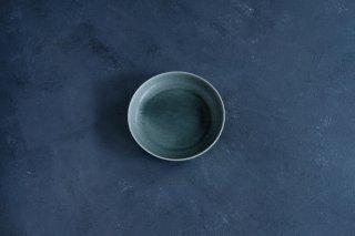 yumiko iihoshi porcelain イイホシユミコ ReIRABO Round plate M color:winter night gray