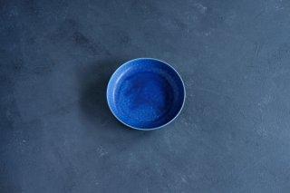 yumiko iihoshi porcelain イイホシユミコ ReIRABO Round plate M color:offshore blue