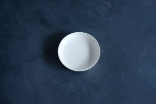 yumiko iihoshi porcelain イイホシユミコ ReIRABO Round plate M color:quiet white