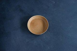 yumiko iihoshi porcelain イイホシユミコ ReIRABO Round plate M color:warm soil brown