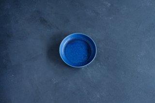 yumiko iihoshi porcelain イイホシユミコ ReIRABO Round plate S color:offshore blue