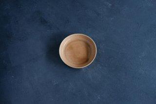 yumiko iihoshi porcelain イイホシユミコ ReIRABO Round plate S color:warm soil brown