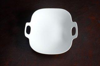 yumiko iihoshi porcelain イイホシユミコ bon voyage plate M color:white