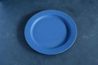 yumiko iihoshi porcelain イイホシユミコ unjour apres midi plate 220 color:ruri