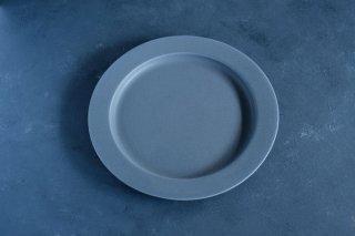 yumiko iihoshi porcelain イイホシユミコ unjour apres midi plate 220 color:rainy gray