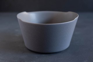 yumiko iihoshi porcelain イイホシユミコ unjour matin bowl L color:rainy gray