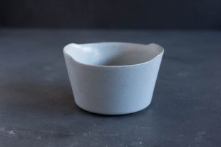 yumiko iihoshi porcelain イイホシユミコ unjour matin bowl M color:smoke blue