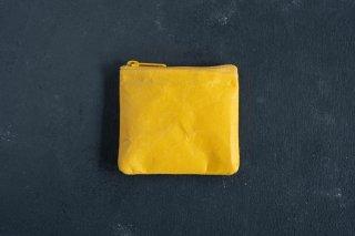 SIWA   紙和 コインケース  color:Yellow [生産終了品]