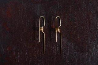 SPRINGSPRING SPRING WEAR lock ピアス color:gold