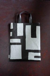 SIWA | 紙和 SAMIRO YUNOKI FLATバッグ M Pattern:01