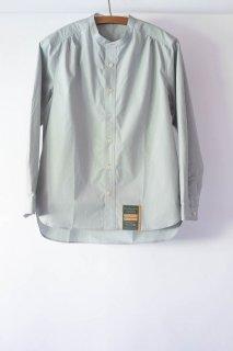 ASEEDONCLOUD  アシードンクラウド Handwerker  ハンドベーカー HW collarless shirt  BlueGrey [ラスト1点]
