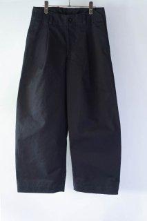 ASEEDONCLOUD  アシードンクラウド Handwerker  ハンドベーカー HW wide trousers  備前壱号 Charcoal [ラスト1点]