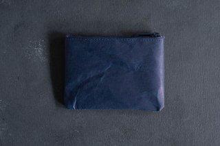 SIWA | 紙和 コインケース wide  color:Dark Blue