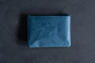 SIWA | 紙和 コインケース wide  color:Blue