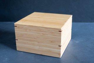 公長齋小菅 6.5寸 二段重箱