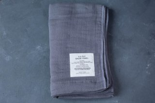 SHINTO TOWEL 2.5重ガーゼタオル  BATH TOWEL L color:MIX Charcoal