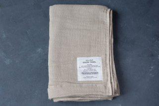 SHINTO TOWEL 2.5重ガーゼタオル  BATH TOWEL L color:MIX Beige