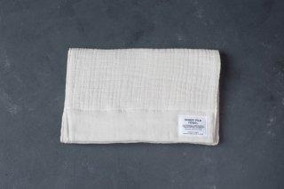 SHINTO TOWEL インナーパイルタオル FACE TOWEL color:Ivory