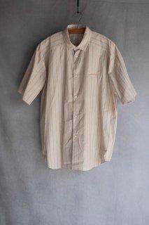 <img class='new_mark_img1' src='https://img.shop-pro.jp/img/new/icons13.gif' style='border:none;display:inline;margin:0px;padding:0px;width:auto;' />Dulcamara  ドゥルカマラ ショートヨークスリーブシャツ Orange Stripe
