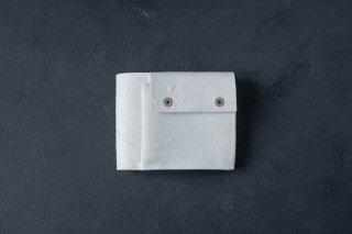 [即売] KAGARI YUSUKE  カガリユウスケ 二つ折り財布 white [ラスト1点]