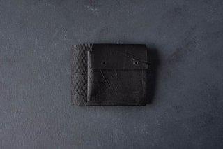 [即売] KAGARI YUSUKE   カガリユウスケ 二つ折り財布 black [ラスト1点]