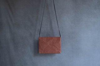 SIWA | 紙和 サコッシュ  color:Terracotta