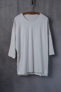 【別注】daska  ダスカ  Basic Tee Tシャツ  color : 白鼠