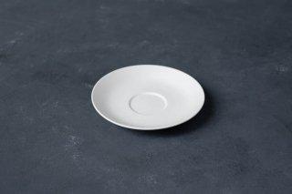 yumiko iihoshi porcelain イイホシユミコ SHIONARI saucer color:white